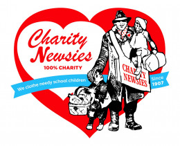 Charity Newsies logo